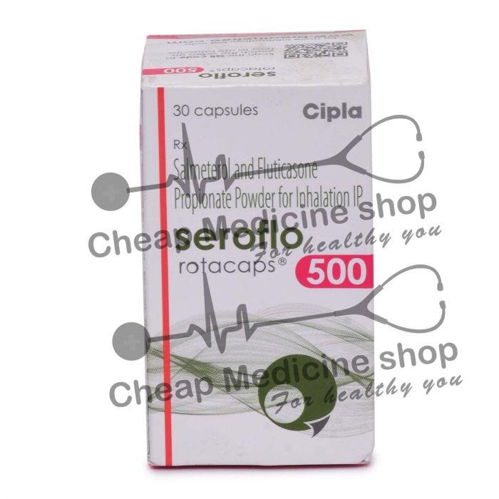 Seroflo Rotacaps 50 Mcg + 500 Mcg