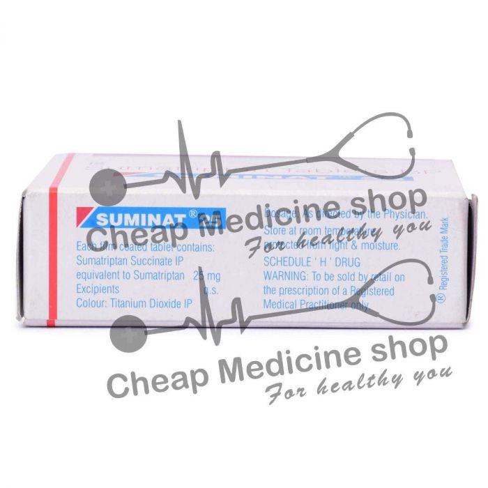 Suminat 25 mg capsulas