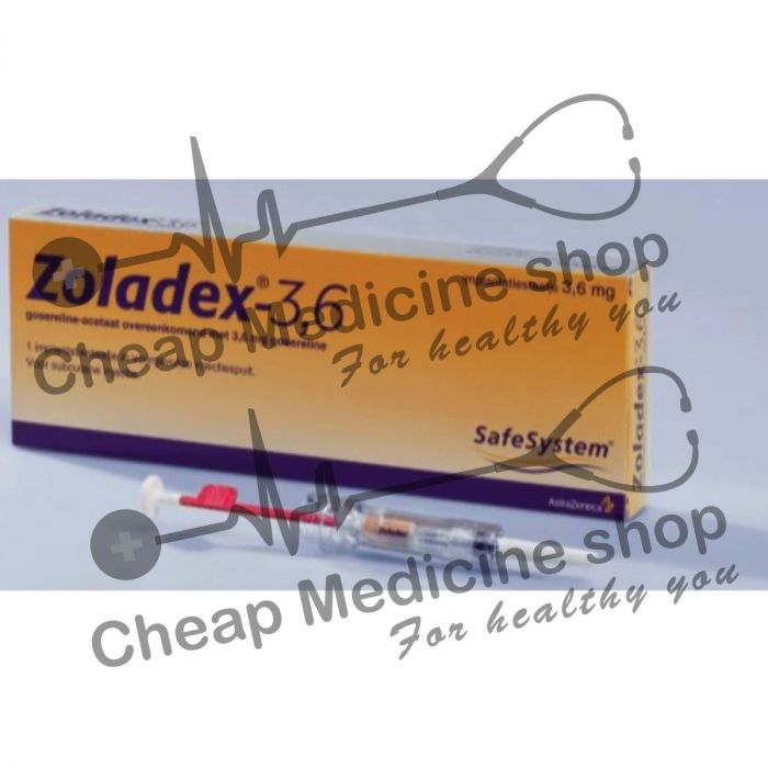 Buy Zoladex 3.6 Mg Injection
