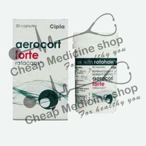 Aerocort Forte Rotacaps  200 Mcg/100 Mcg