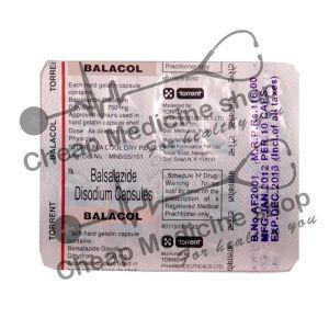 Balsacol 750 Mg