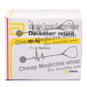 Duvadilan Retards 40 Mg