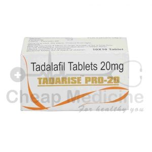 Tadarise Pro 20Mg with Tadalafil Front View