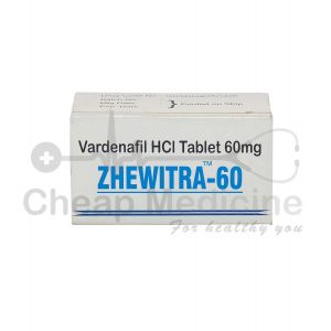 Zhewitra 60Mg, Vardenafil HCL Front View