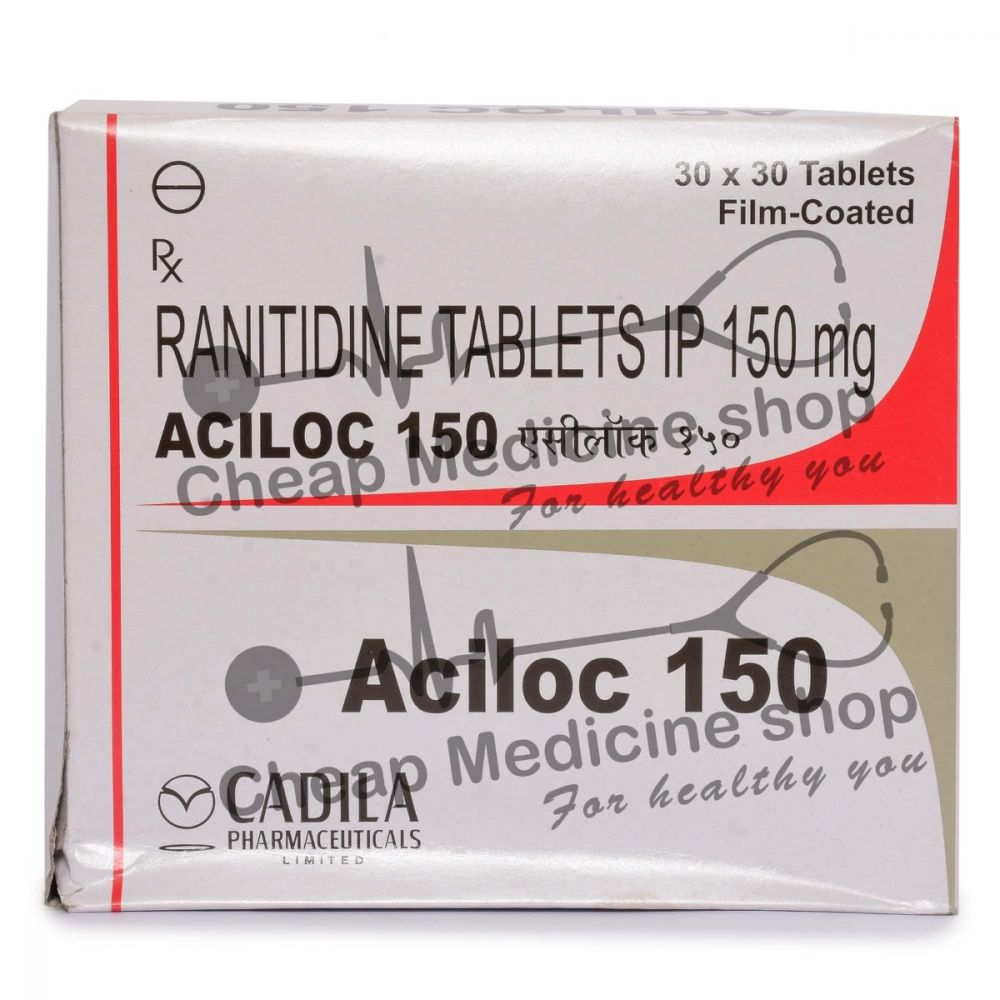 Aciloc 150 Mg, Zantac, Ranitidine