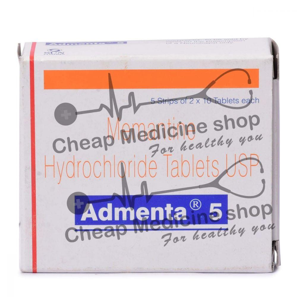 Admenta 5 Mg, Namenda, Memantine