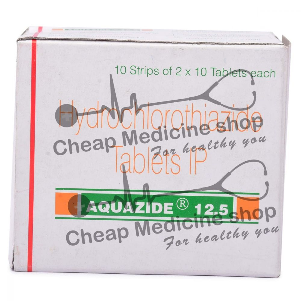 Aquazide 12.5 Mg, Aquazide 12.5, Hydrochlorothiazide