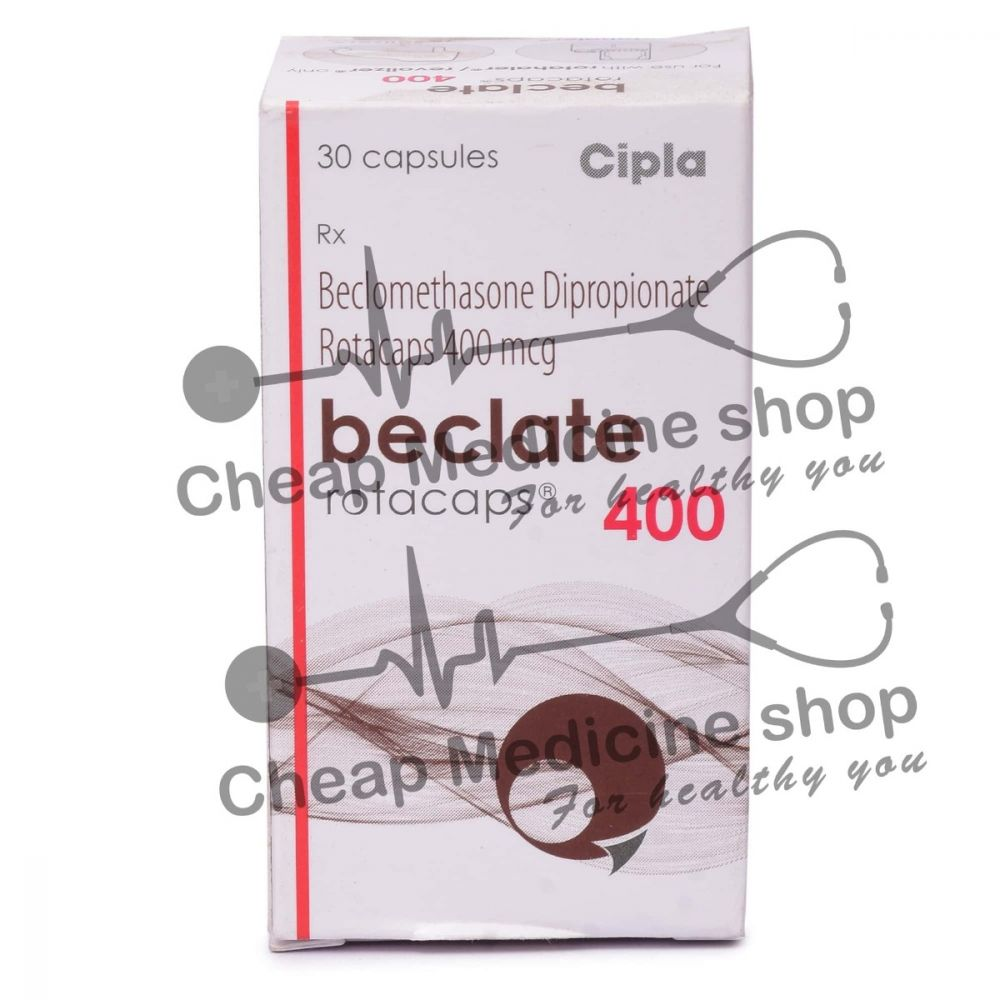 Beclate Rotacaps 400 Mcg, Beclovent, Beclomethasone Dipropionate