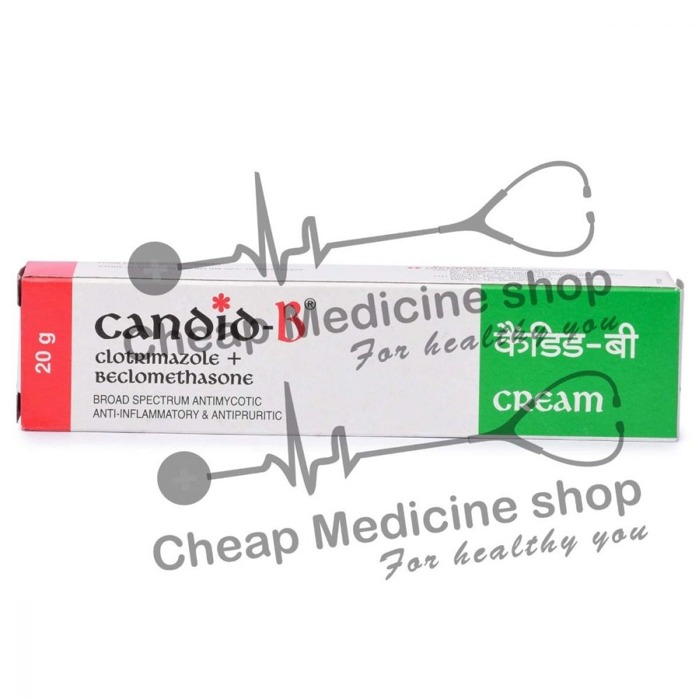 Candid B Cream 20 Gm, Candid B Cream, Beclometasone Topical, Clotrimazole Topical