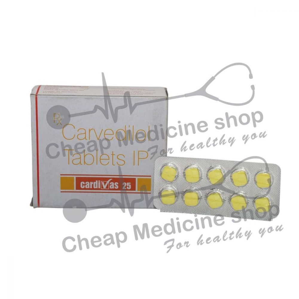 Cardivas 25 Mg, Coreg, Carvedilol