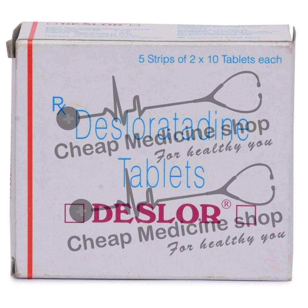 Deslor 5 Mg, Clarinex, Desloratadine