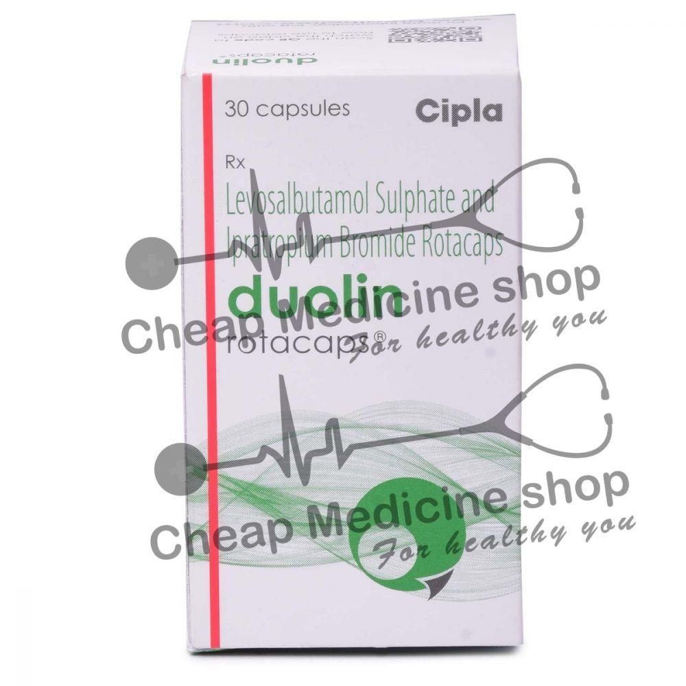 Duolin Rotacaps 100 Mg + 40 Mg, Combivent, Levosalbutamol + Ipratropium Bromide