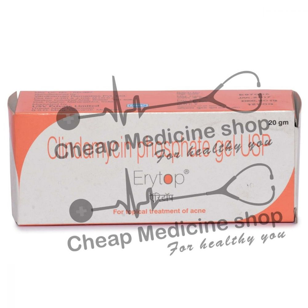 Erytop 1% Gel 20 Gm, Cleocin T, Clindamycin Phosphate Gel