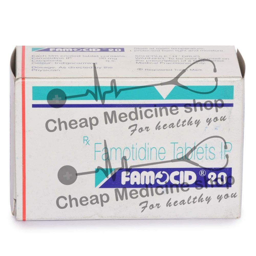 Famocid 20 Mg, Pepcid, Famotidine