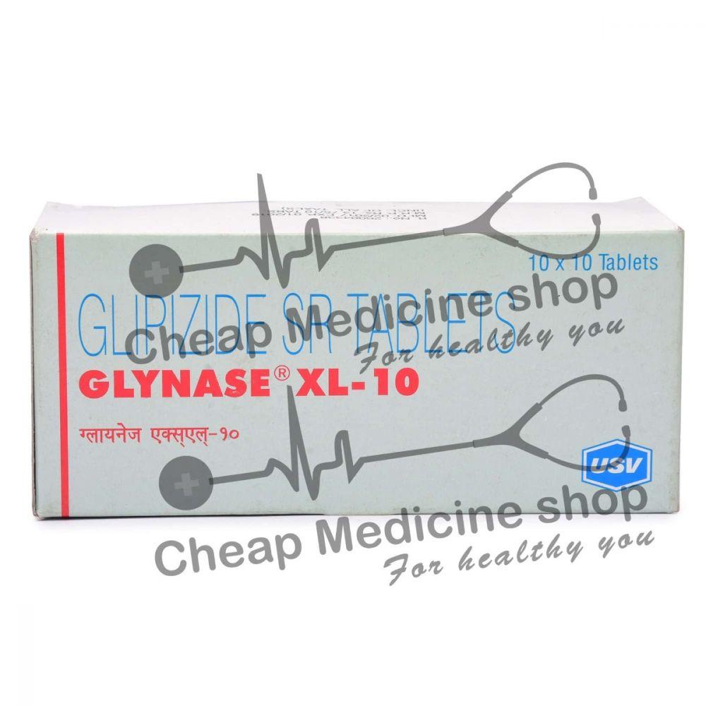 Glynase XL 10 Mg, Glucotrol XL, Glipizide
