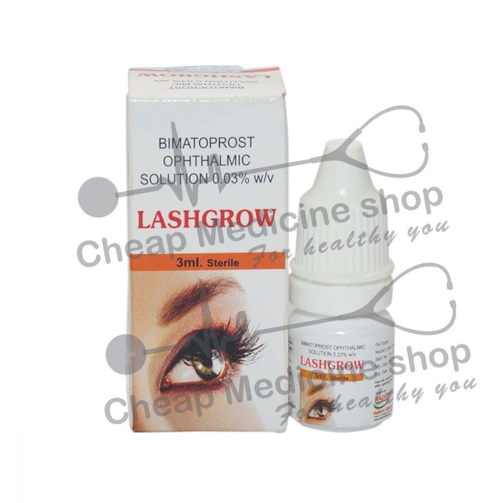 Lashgrow, Bimatoprost Ophthalmic Solution, Bimatoprost Ophthalmic Solution