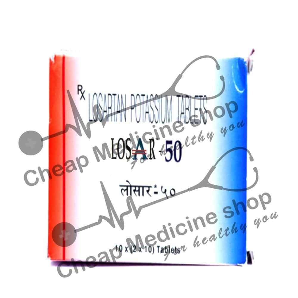 Buy Losar 50 Mg Tablet (Losartan)