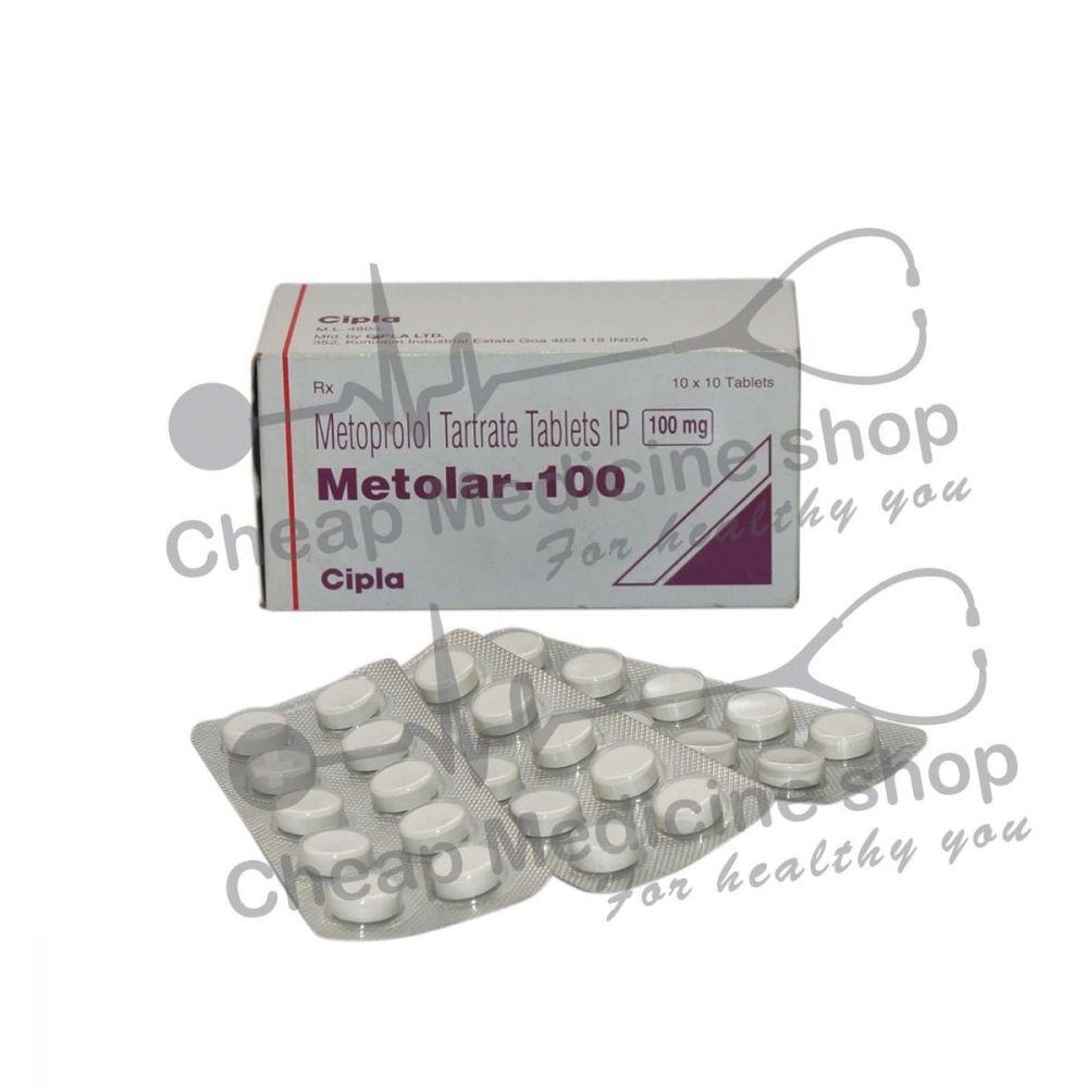 Metolar 100 Mg, Toprol XR, Metoprolol