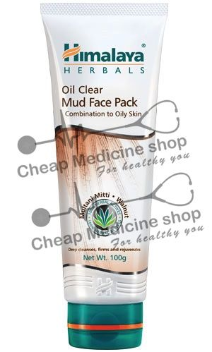 Oil Clear Mud Face Pack 50gm