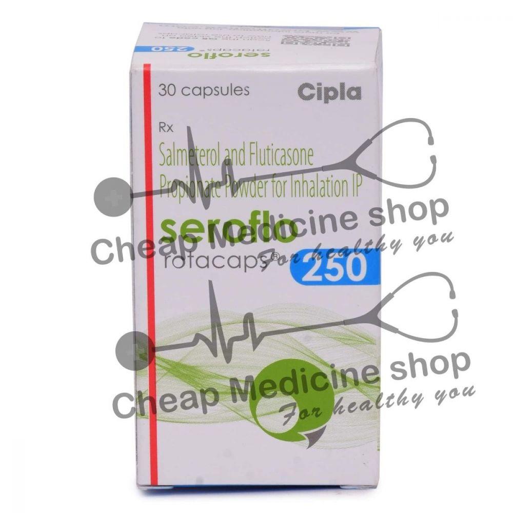 Seroflo Rotacaps 50 Mcg + 250 Mcg
