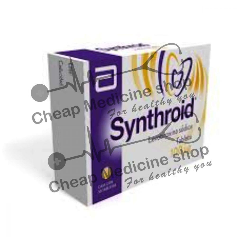 Synthroid 100 Mcg Tablet Thyroxine Levothyroxine It S Precautions