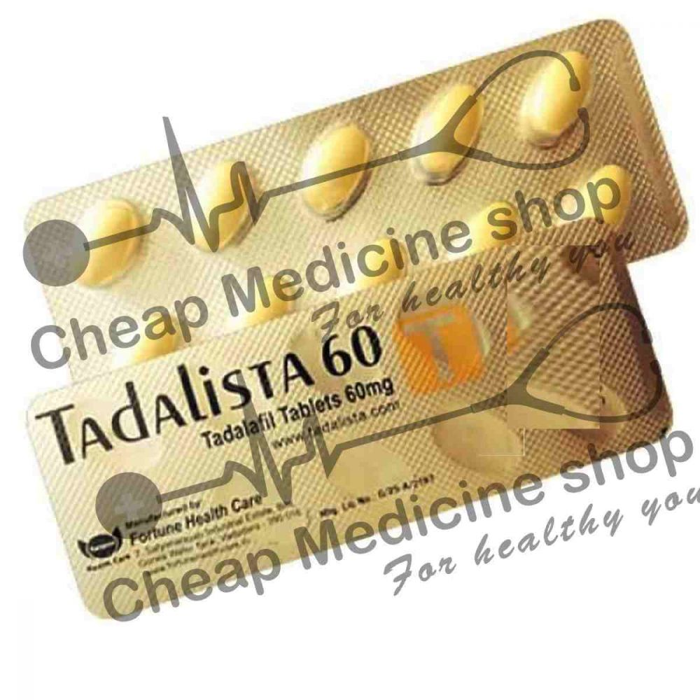 Buy Tadalista 60 Mg (Tadalafil)