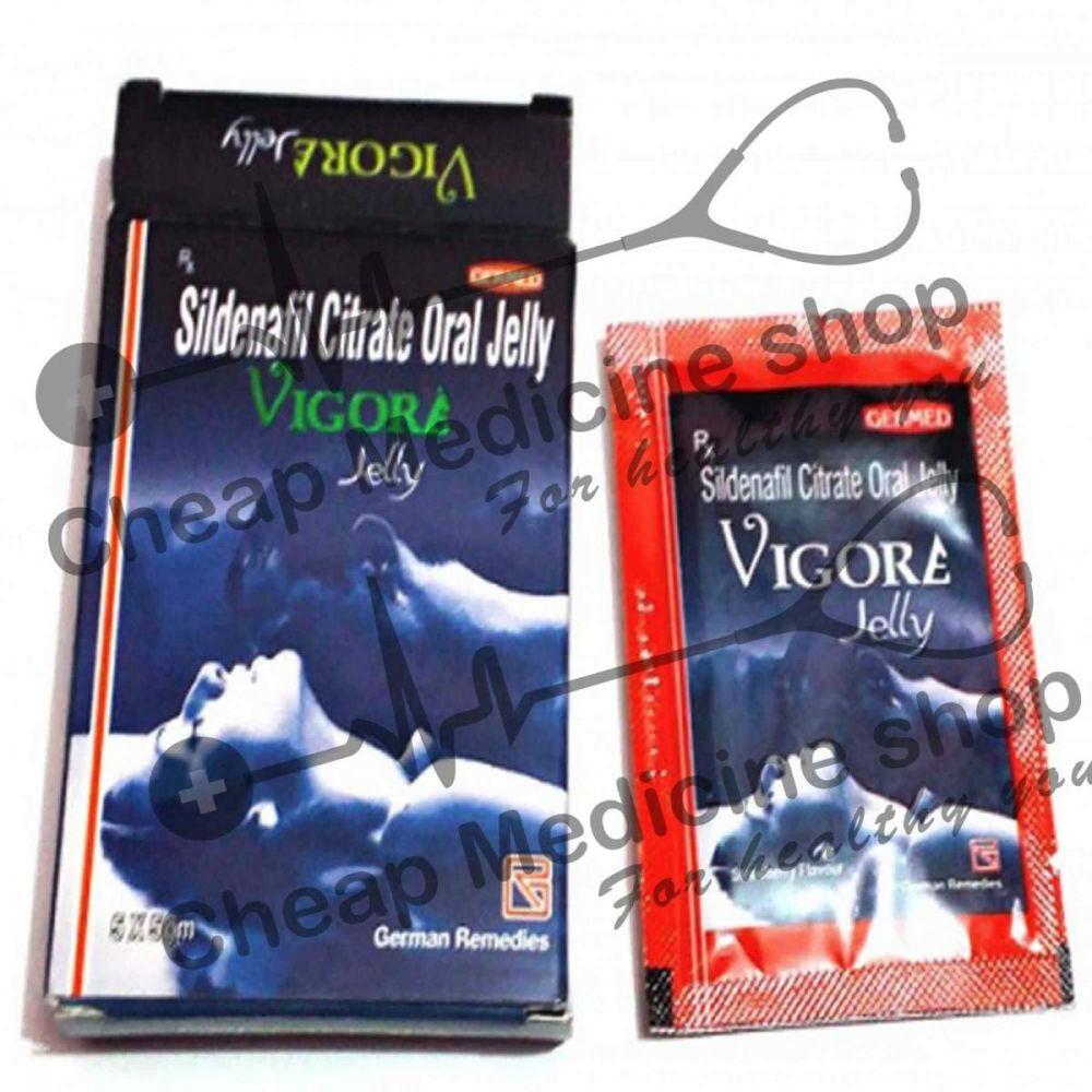 Buy Vigora Oral Jelly 100 Mg