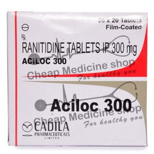 Aciloc 300 Mg, Zantac, Ranitidine
