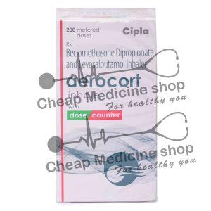Aerocort Inhaler 50 Mcg + 50 Mcg, Aerocort Inhaler, Beclomethasone Dipropionate + Levosalbutamol