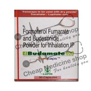 Buy Budamate 400 Transcaps