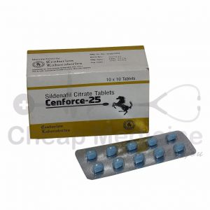 Cenforce 25Mg, Sildenafil Citrate Front View