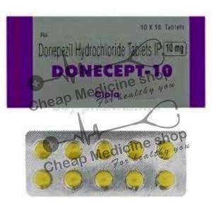 Buy Donecept 10 Mg Tablet