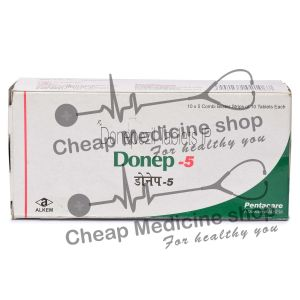 Donep 5 Mg, Aricept, Donepezil