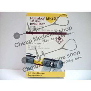 Buy Humalog Mix 25 Kwikpen 100IU/ml