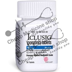 Buy Iclusig 45 Mg