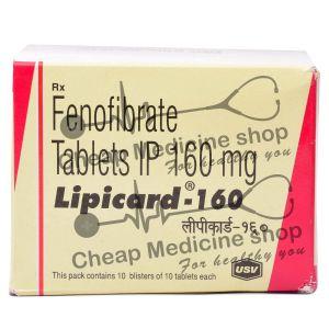 Lipicard 160 Mg