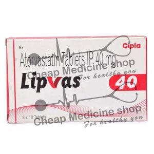 Lipvas 40 Mg