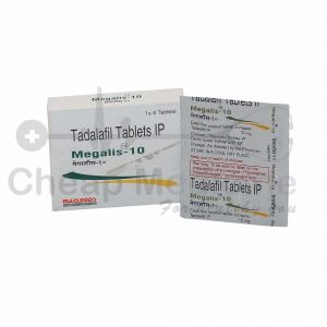 Megalis 10Mg with Tadalafil Front View