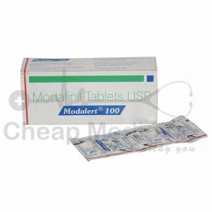 Modalert 100Mg with Modafinil Front View