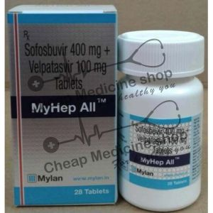 Buy MyHep All Tablet 400 Mg+100 Mg