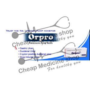 Buy Orpro 20 Mg Tablet