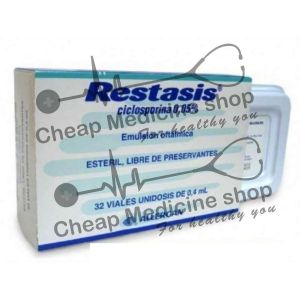 Buy Restasis 0.05% Ophthalmic Emulsion 0.4ml