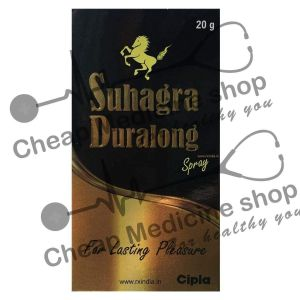 Buy Suhagra Duralong Spray 20 Mg