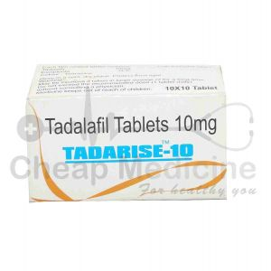 Tadarise 10Mg with Tadalafil Front View