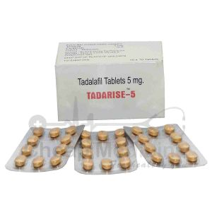 Tadarise 5Mg with Tadalafil Front View