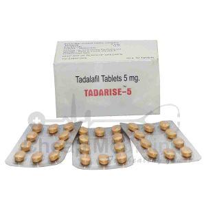 Tadarise 5Mg with Tadalafil Front View