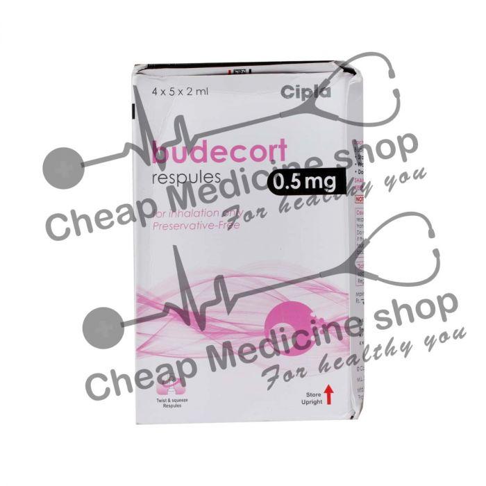 Buy Budecort Respules 05 Mg Per 2ml Pulmicort Inhaler