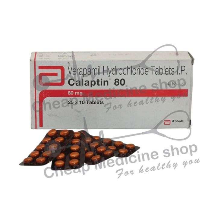 Calaptin 80 Mg, Calan, Verapamil