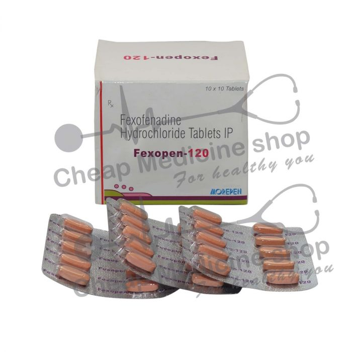 Fexopen 120 Mg, Allegra Allergy, Fexopen