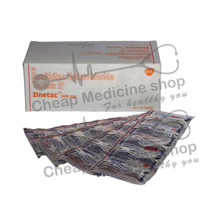 Zinetac 300 Mg, Zantac, Ranitidine